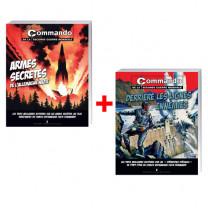 Lot de 2 ouvrages : Armes secrètes de l'Allemagne nazie + Derrière les lignes ennemies