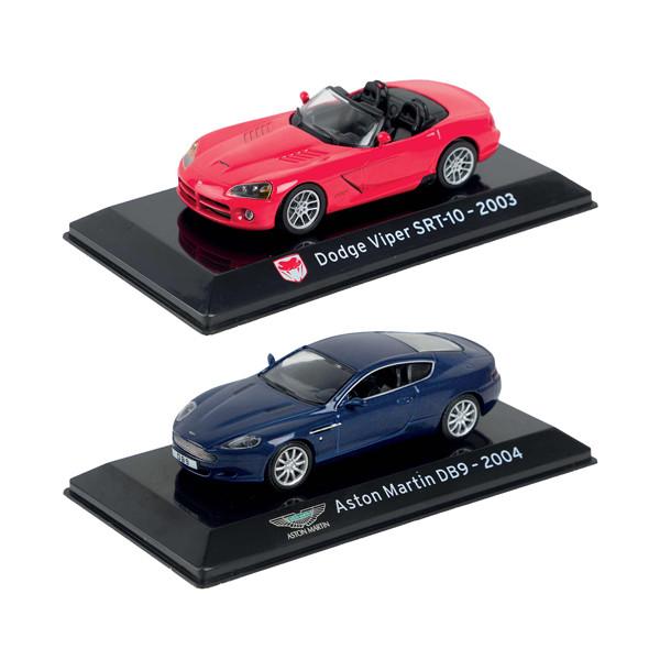 Les deux voitures de sport