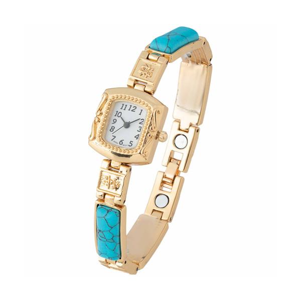 La montre aux turquoises