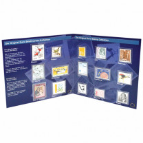 Les 15 premiers timbres* de l'UE