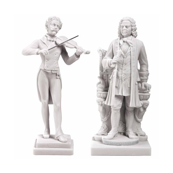 Les 2 statuettes de Musiciens