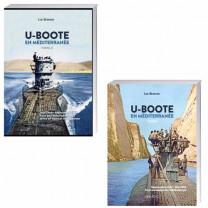 Lot de 2 ouvrages : U-Boote en Méditerranée tome 2 + U-Boote en Méditerranée