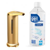 Le duo Distributeur + gel hydroalcoolique
