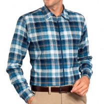Chemise flanelle zippée