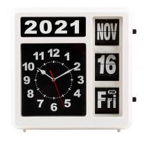 Horloge géante à calendrier automatisé
