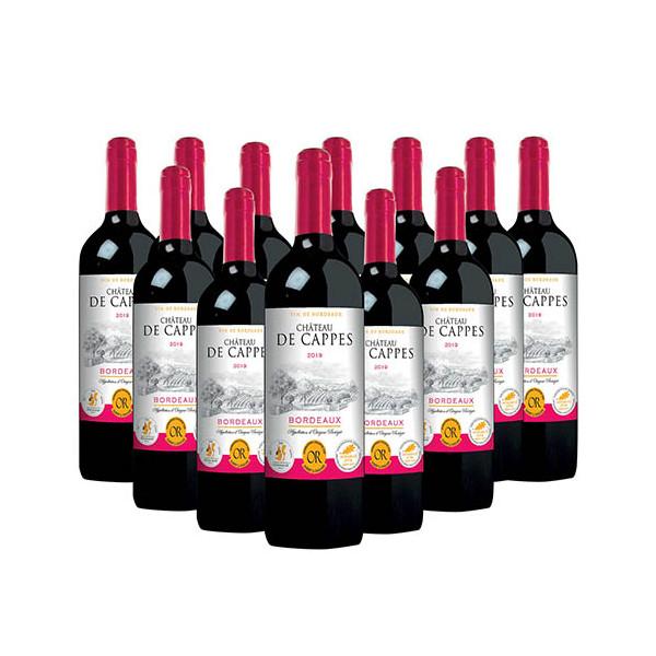 Château de Cappes 2019 - les 12 (soit 5 bouteilles OFFERTES)