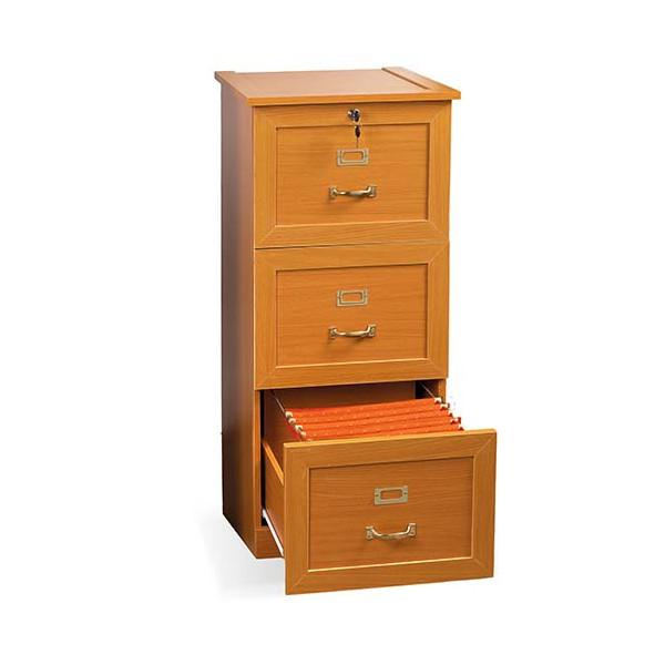 Classeur de style 3 tiroirs pour dossiers suspendus
