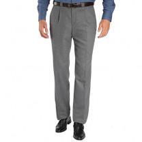Pantalon flanelle laine