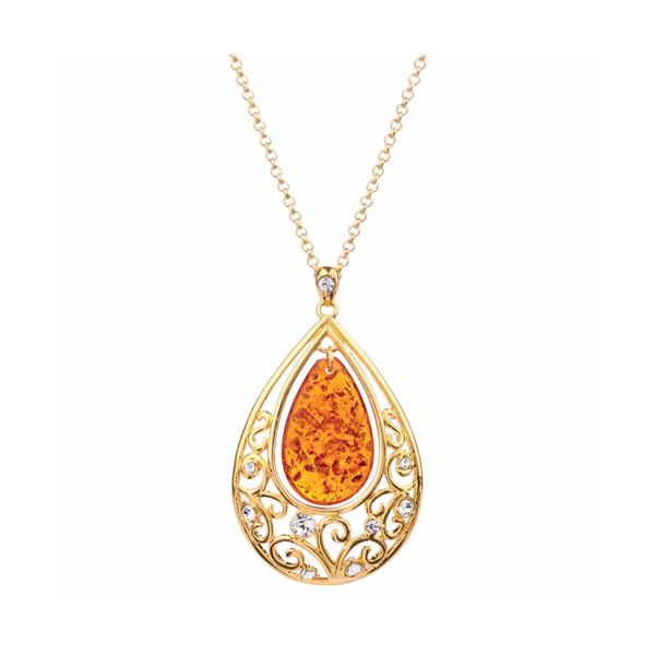 Le pendentif trésor d'ambre