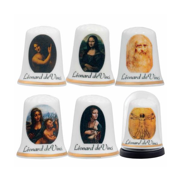 Les 6 dés Léonard de Vinci