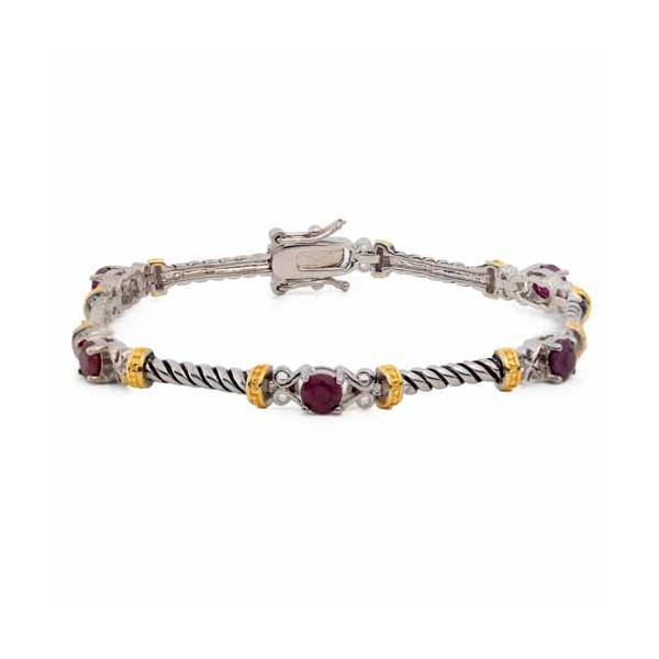 Le bracelet aux 5 rubis