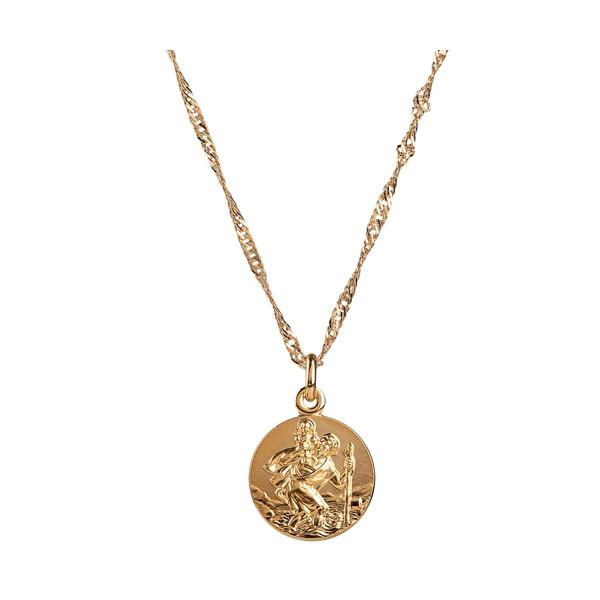 La médaille de Saint Christophe