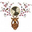 L'horloge cerf