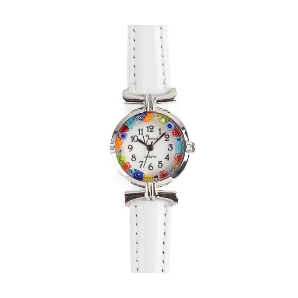 La montre de Murano blanche