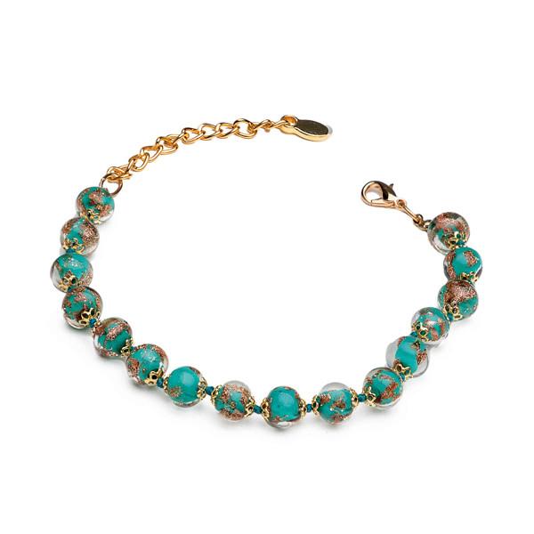 Le bracelet Murano émeraude