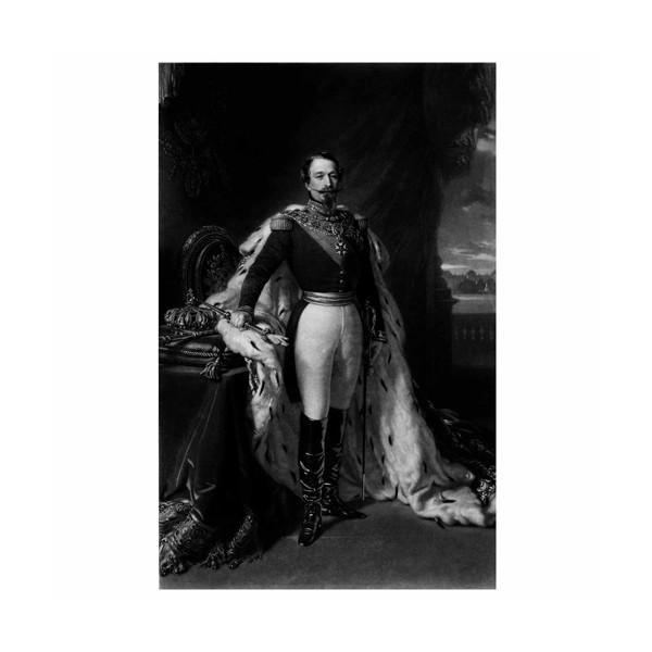L'estampe de Napoléon III