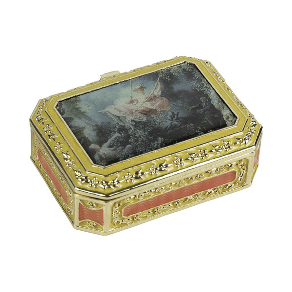 La boîte en métal de Fragonard