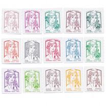 Les 15 timbres Marianne de la Jeunesse de 2013