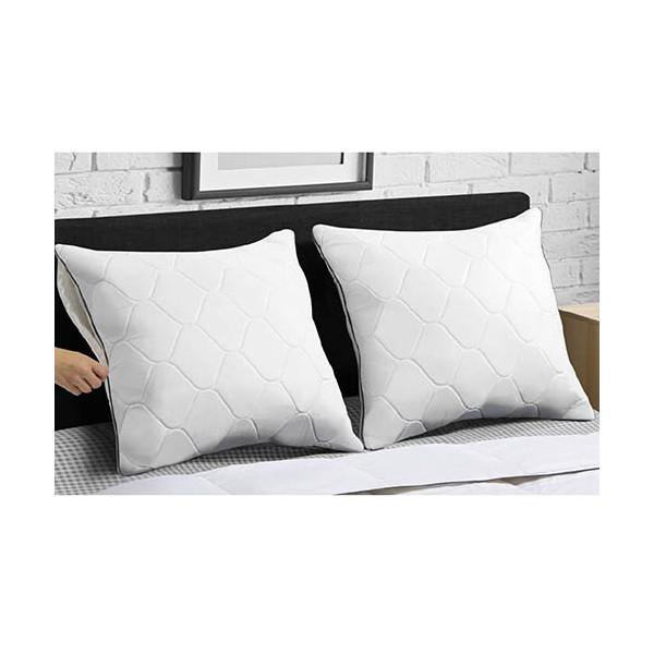 Housses d'oreiller «mémoire de forme» - les 2