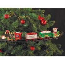 Train de Noël pour sapin