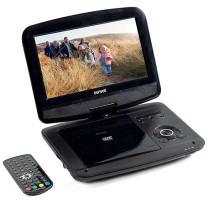 Mini TV lecteur DVD rechargeable