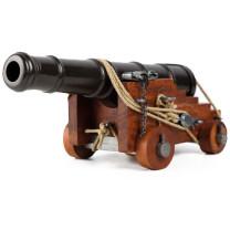 Le canon de la Marine anglaise du XIXe siècle