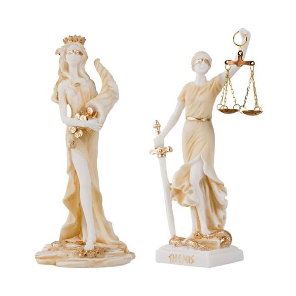 Les deux déesses grecques