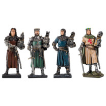 Les quatre Chevaliers de la Table ronde