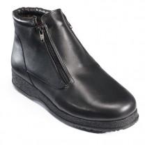 Boots Cuir Doublées Laine