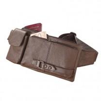 Sacoche-ceinture en cuir
