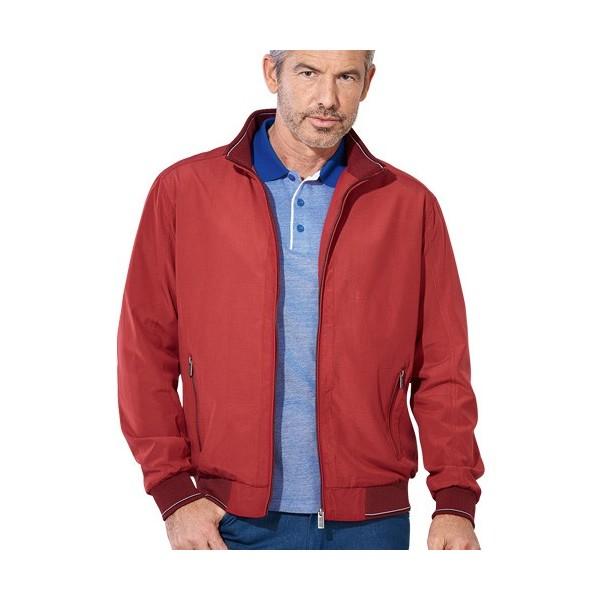 blouson microfibre d t rouge acheter manteaux parkas vestes l 39 homme moderne. Black Bedroom Furniture Sets. Home Design Ideas