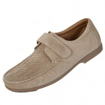 Chaussures Cuir Velours Confort Scratch