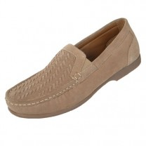 Mocassins Cuir Velours Confort