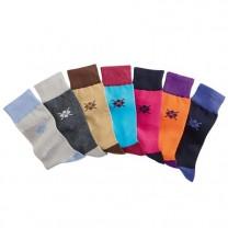 Chaussettes Coton Peigné - les 7 paires