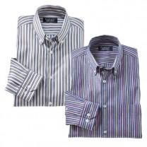 Les 2 Chemises Rayures Club