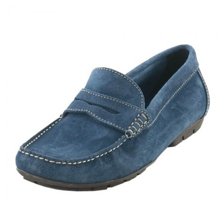 Mocassins Cuir Velours Boston Homme