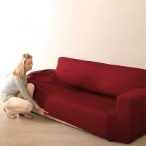 Housse élastique pour canapé 2 places