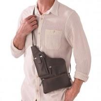 Sacoche-holster en cuir