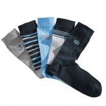 Chaussettes nautiques - les 5 paires