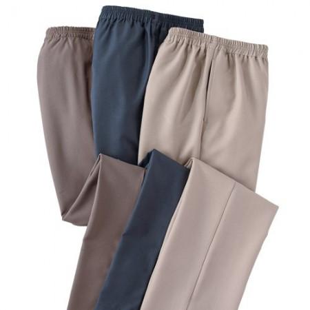 Pantalons d'été chic & confort - les 3