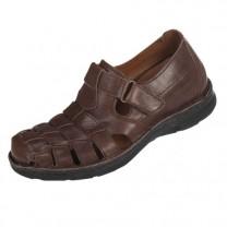 Sandales à talonnettes invisibles
