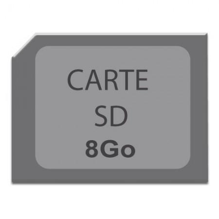 Carte micro SD 8 Go