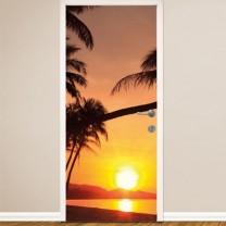 Film décoratif «coucher de soleil»