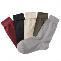 Chaussettes microfibre chaleur - les 5 paires