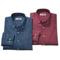 Chemises carreaux flanelle - les 2