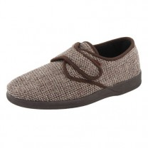 Chaussons «tweed»