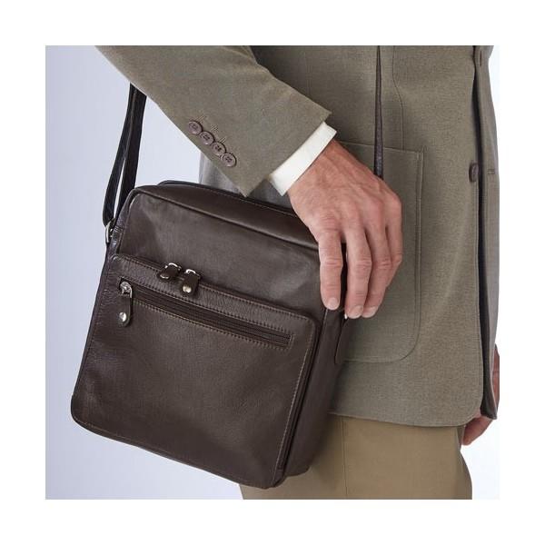 Sacoche en cuir de buffle acheter maroquinerie l 39 homme moderne - Cuir de buffle entretien ...