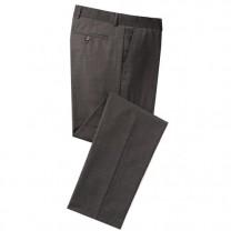 Pantalon confort 2 pinces Marron