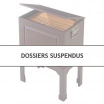 Dossiers suspendus - les 20