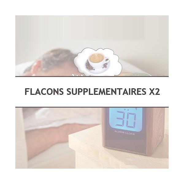 Flacons supplémentaires de 6 ml arôme café - les 2